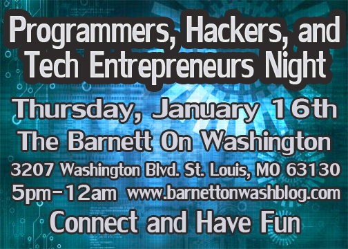 programmers, hackers, and tech entrepreneurs night