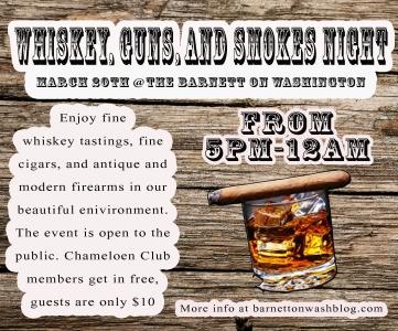 whiskey guns smokes