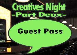Creatives Night Two GP