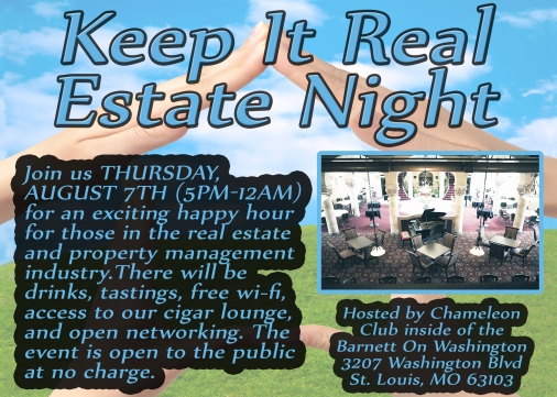 keep it real estate poster