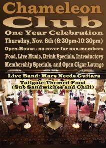 CC celebration flyer